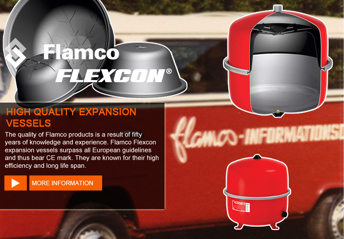 Expansion Vessels Flamco Flexcon